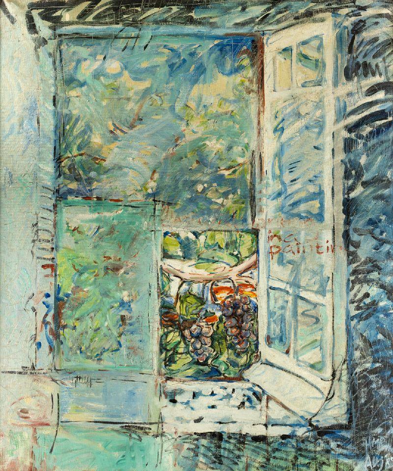 Geronimo's-Window oil on canvas 1988