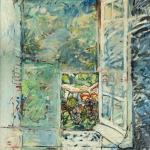 'Geronimo's Window, oil on canvas.'