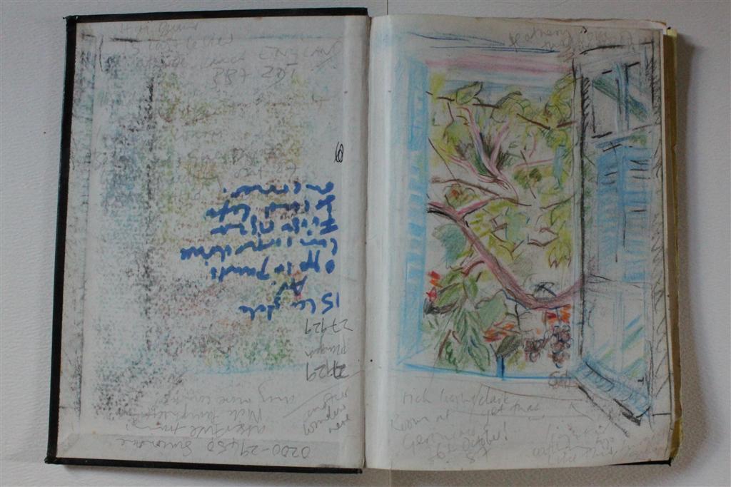 Whole sketch;Geronimo's window