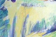 new-yellow-garden-blue-marks-in-centre-of-painting
