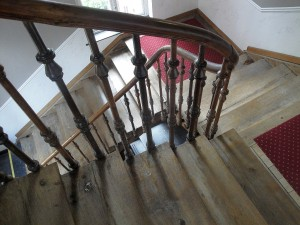 Bruges staircase