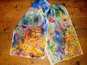 Claire D's whole scarf