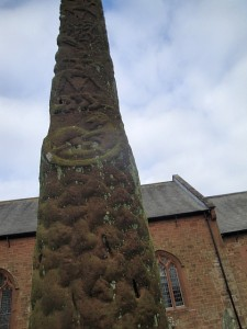 Gosforth cross close-up 4