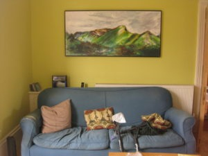 Catbells painting in context