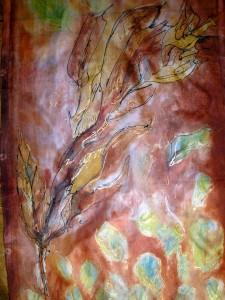 Leaf scarf crop 1