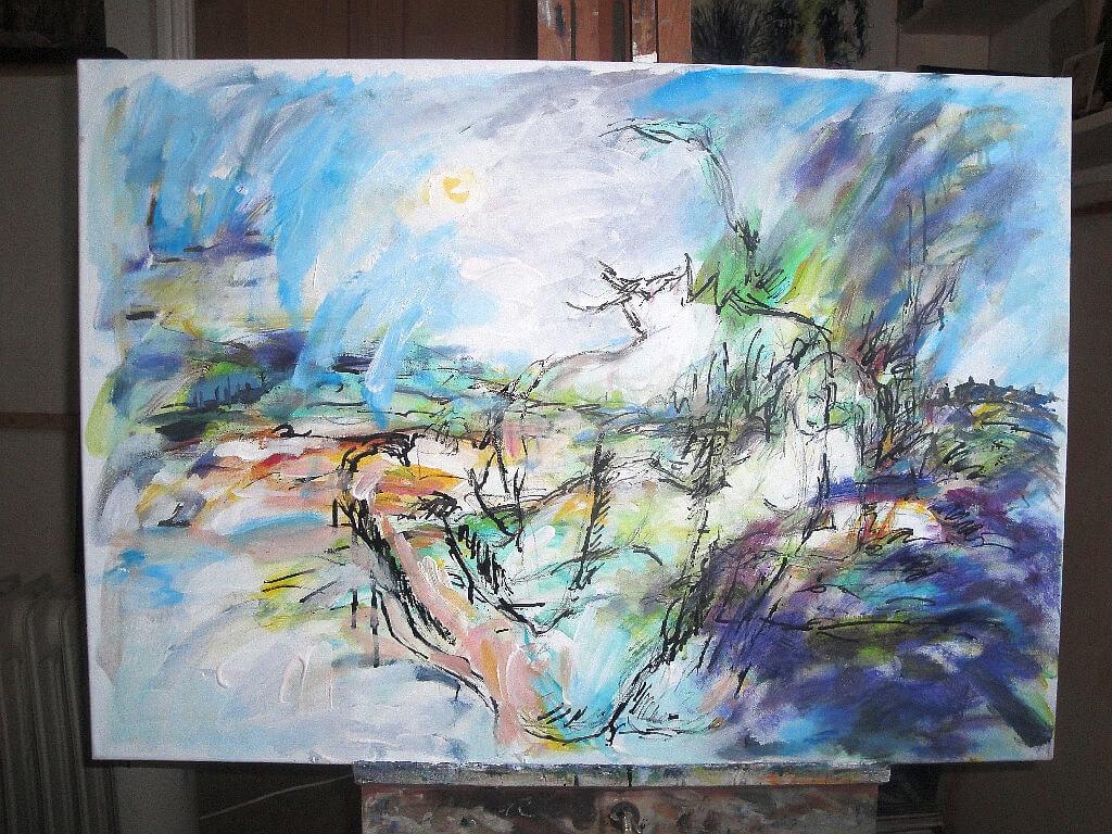 Vanaheim, god and goddess painting with last Tuesday's ...  Vanaheim, god a...