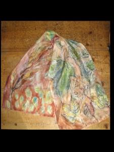leaf scarf  whole thing